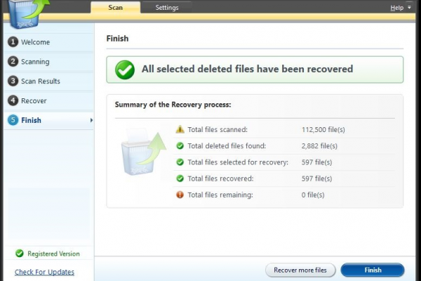Find Your Permanently Deleted Files
